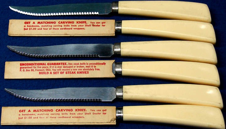 Shell Steak Knives 2
