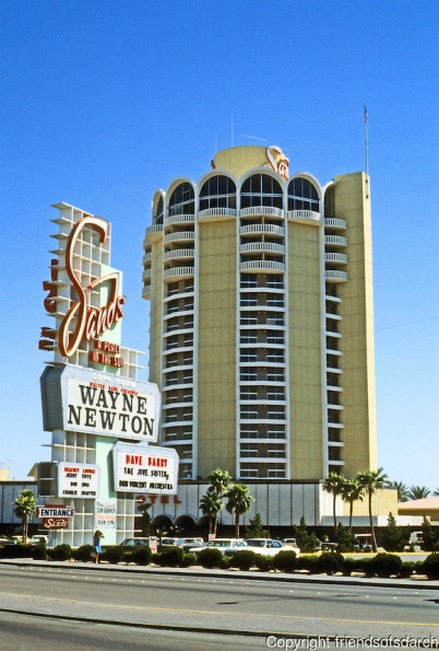 Las Vegas: The Sands Hotel.