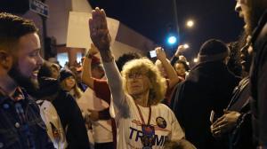 Trump Nazis March 2016