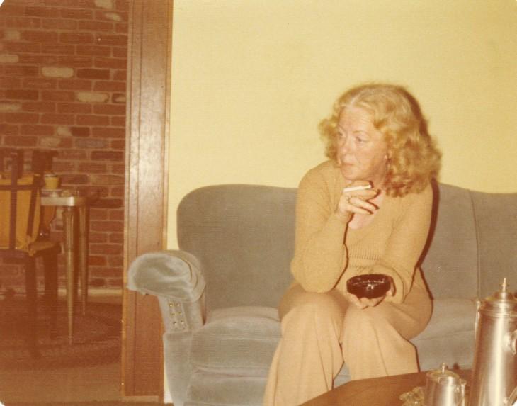 Mom Thanksgiving 1976