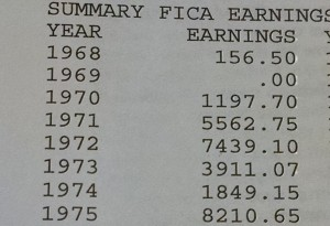 SAG Earnings to 1975