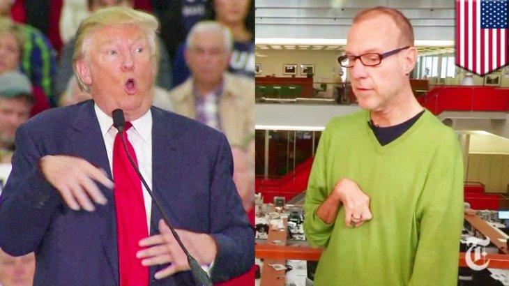 Side By Side Trump Kovaleski