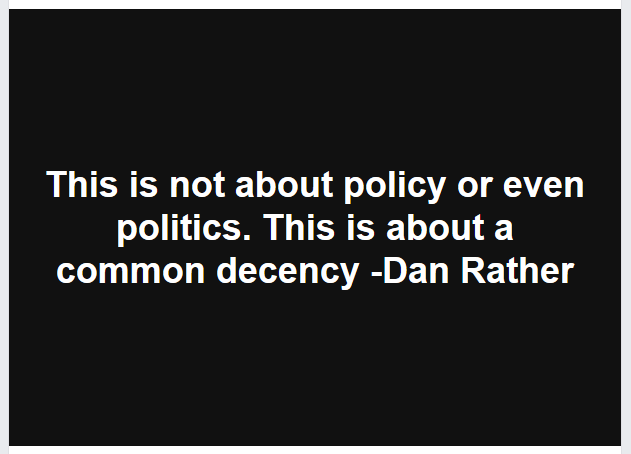 Dan Rather Decency