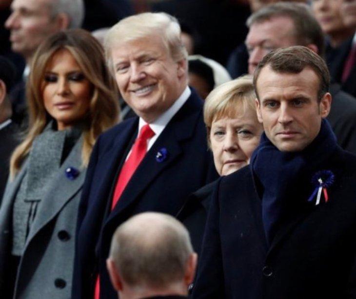 Trump Smiles At Vlad