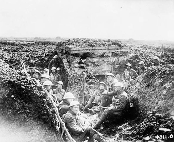 Vimy Ridge 3 German Machine Gun Nest Taken By Canadian Forces